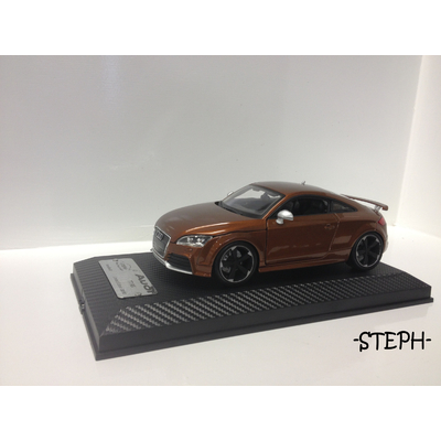1/18 Audi TT RS (Ipanema brown)