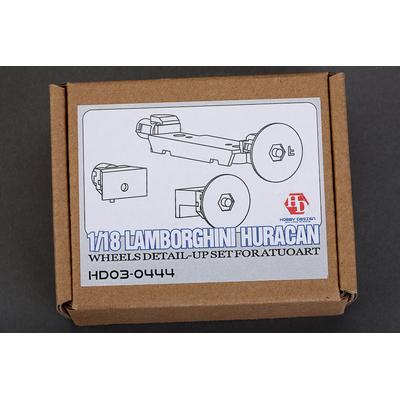 1/18 Lamborghini Huracan Changement roues