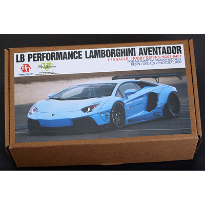 Kit LB Performance Lamborghini Aventador 1/18