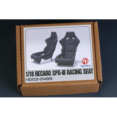 1/18 Sièges Recaro SPG-III Racing Seat