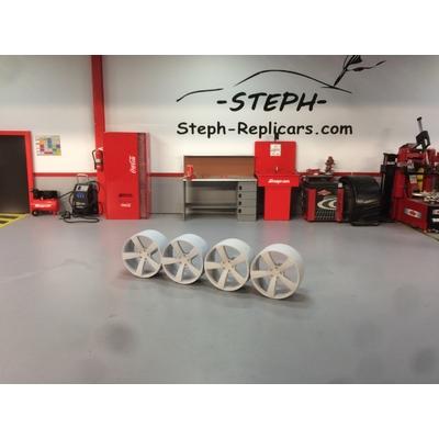 1/18 Jantes Audi Rotor