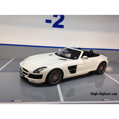 BRABUS SLS 700 BI-TURBO ROADSTER 1/18 MINICHAMPS