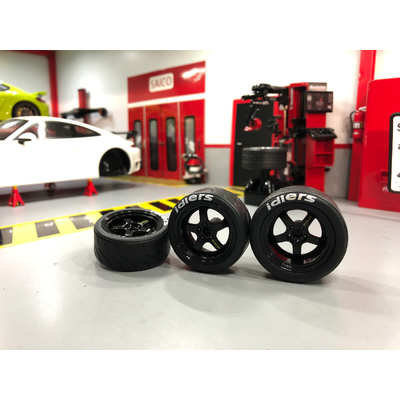 1/18 Jantes Porsche RWB
