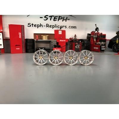 1/18 Jantes Ferrari 488 Pista BBR