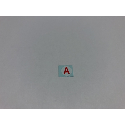 "1/18 Decal ""A"" Apprenti France"