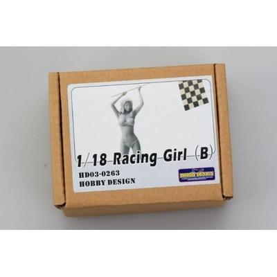 Figurine Racing Girl (B)