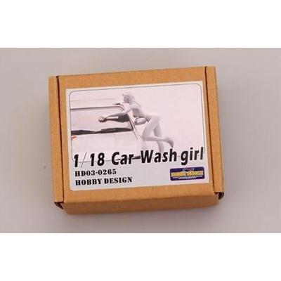 Figurine Car Wash Girl