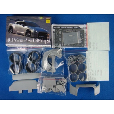 Kit LB Performance Nissan GT-R (autoart) 1/18