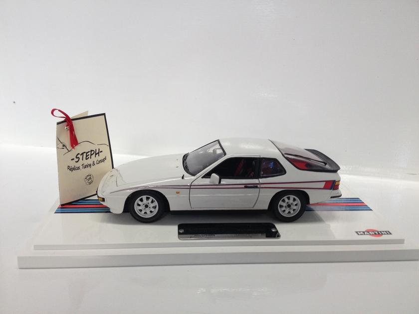 1 18 Porsche 924 Martini S 233 Ries Limit 233 Es Limited