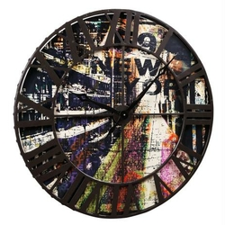 horloge-new-york-street-art