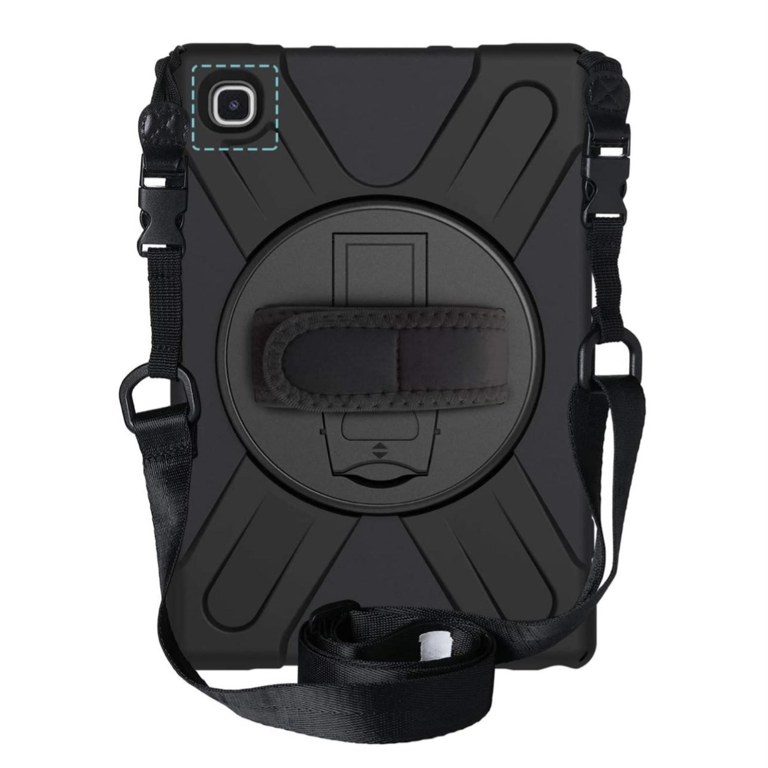 Vancouver Galaxy TAB A7 10.4 pouces Coque renforcee Dragonne main et Sangle epaule
