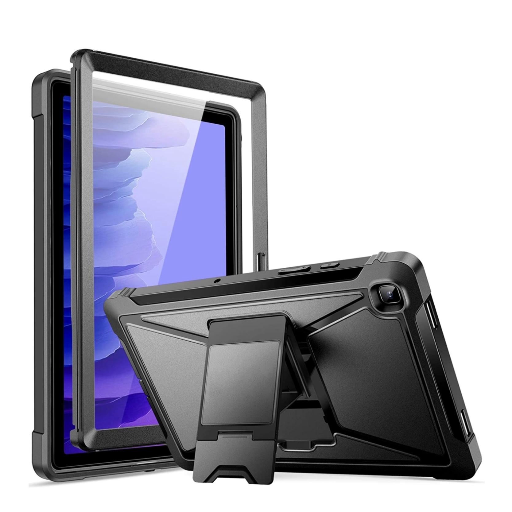 Galaxy TAB A7 10.4 pouces Coque de protection avec film rigide ecran et pied PRO TAB