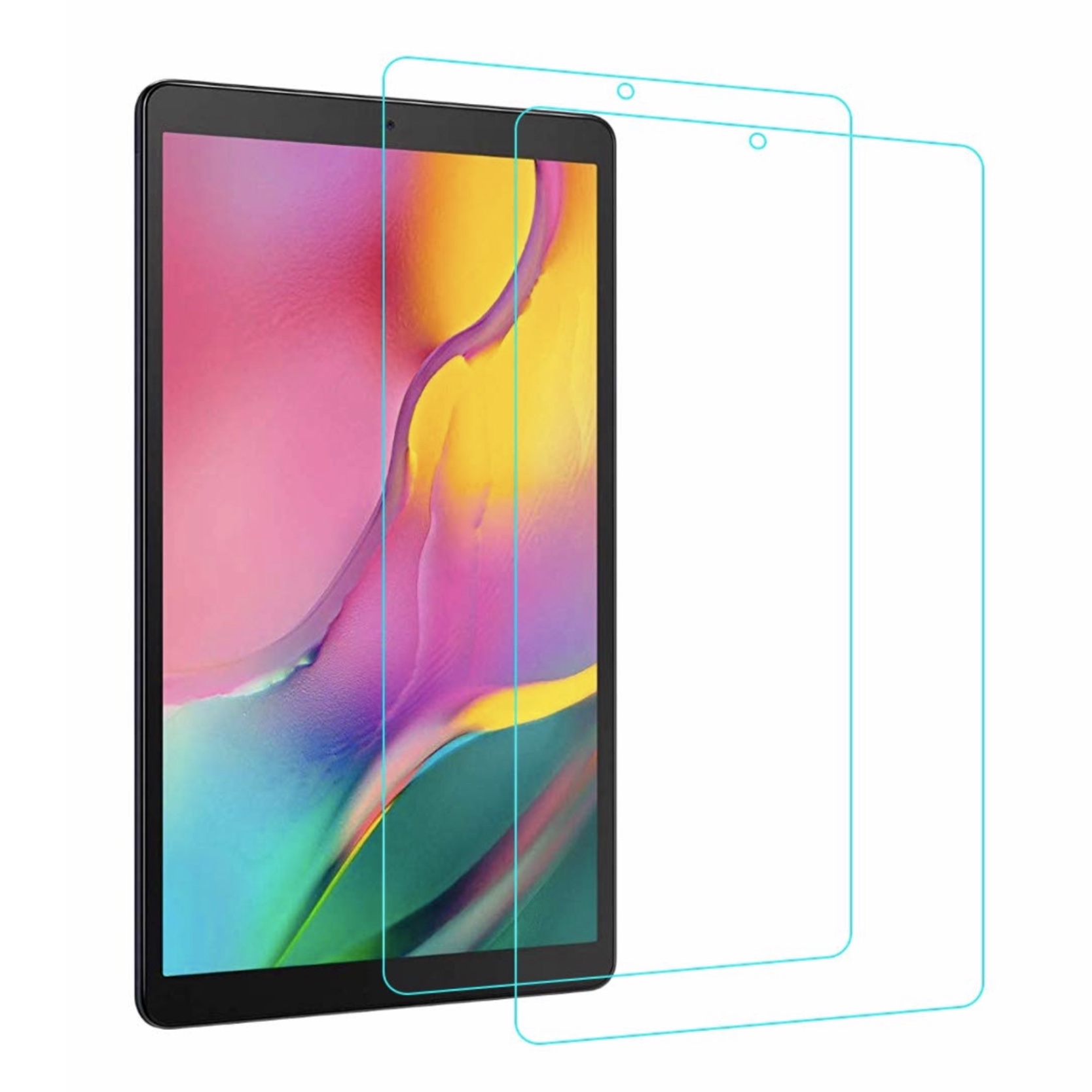 Pack Duo 2 x Verres renforces de protection ecran Galaxy TAB A 2019 10.1 pouces