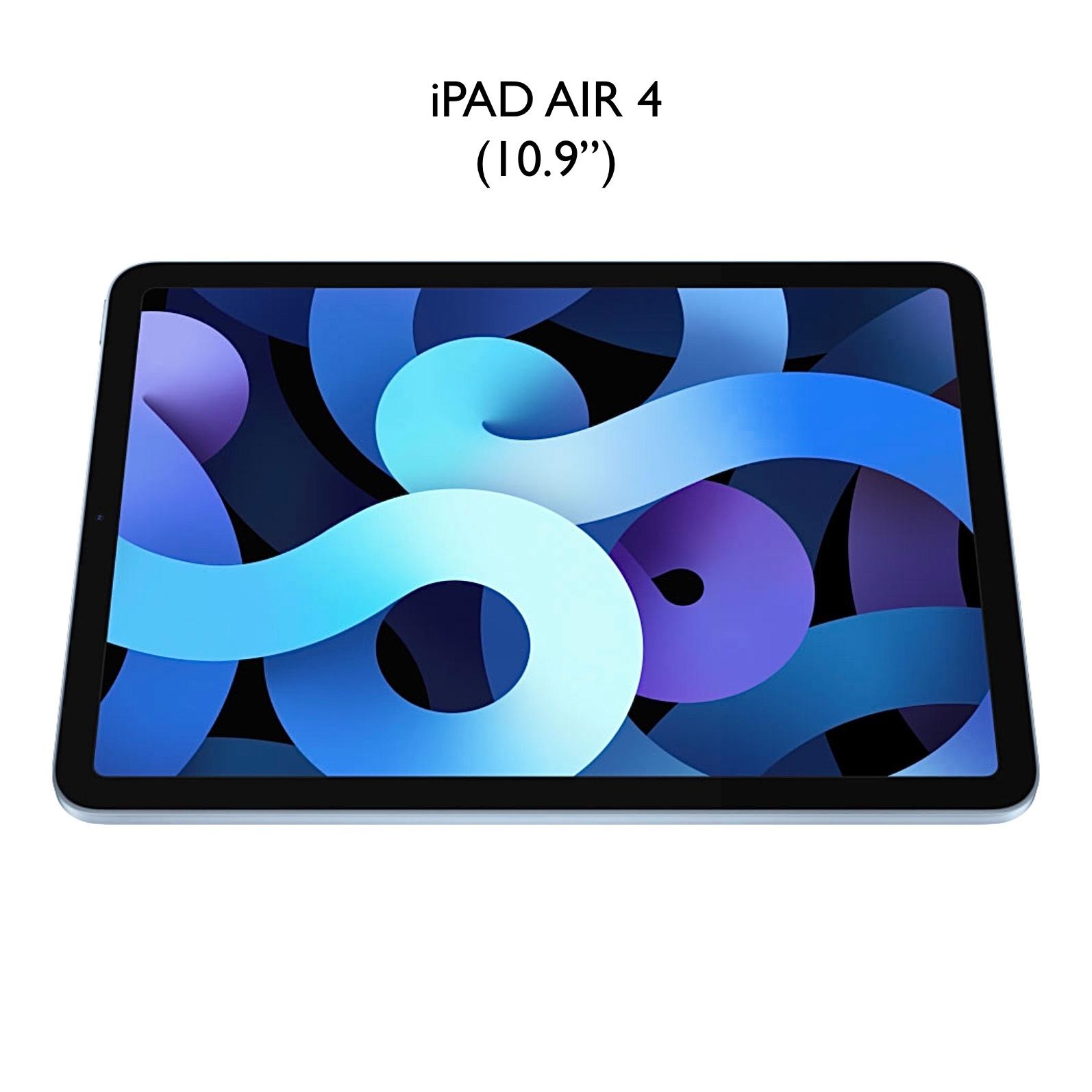 Ref 2463 Pack 2 x Verres Protection ecran iPAD AIR 4 10.9 pouces Premium 9H