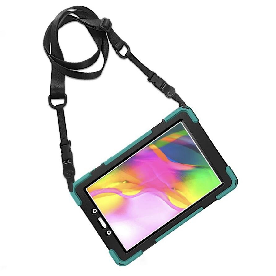 REF 2515 Pack 2 en 1 Galaxy TAB A 8 pouces 2020 SM T290 Coque Vancouver et verre ecran