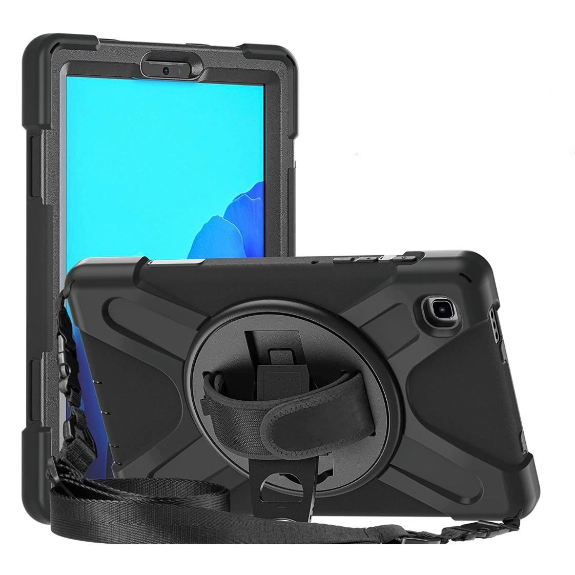 REF 2554 Coque Vancouver Sangle main et bandouliere Galaxy TAB A7 LITE 8.7 pouces SM T220