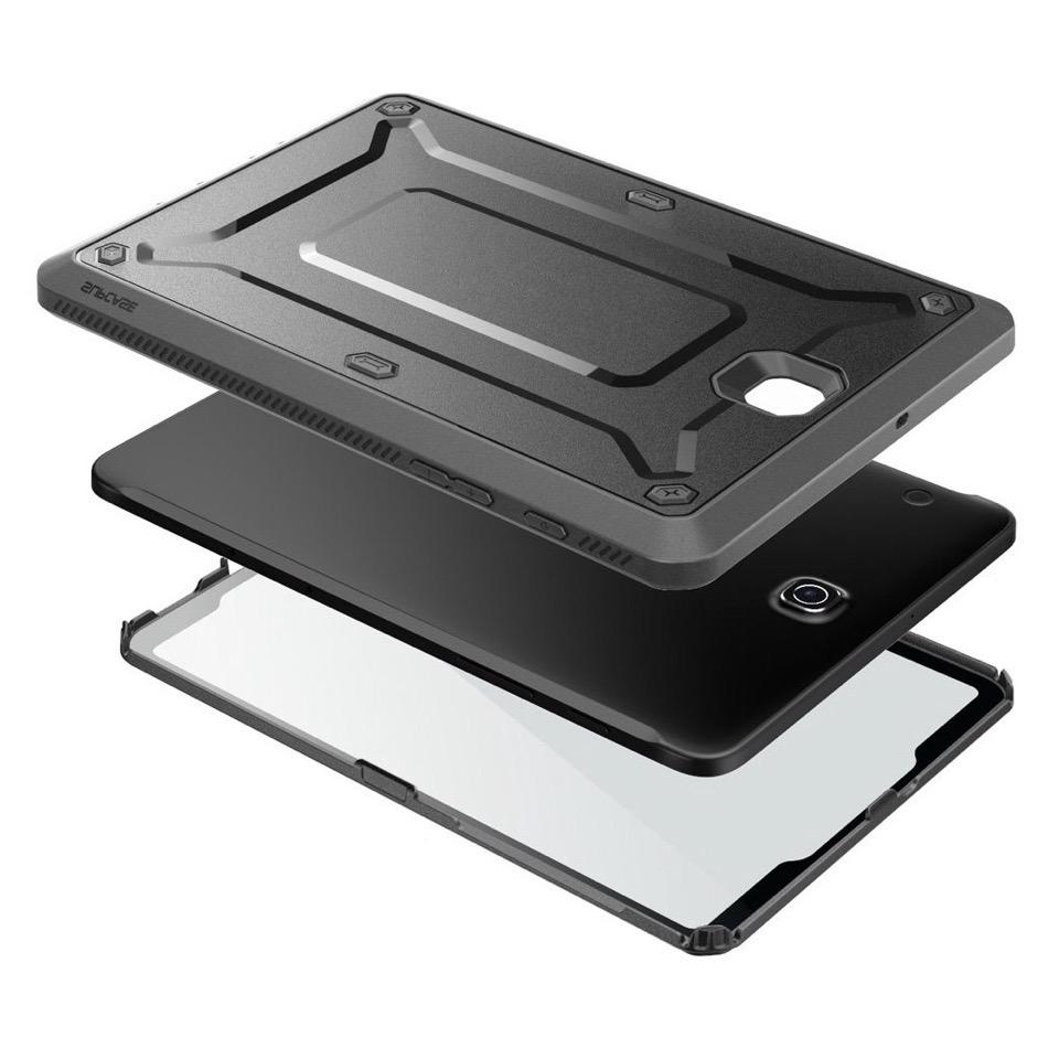 Coque renforcee et Film ecran Protection Pro Galaxy TAB S2 9.7 pouces