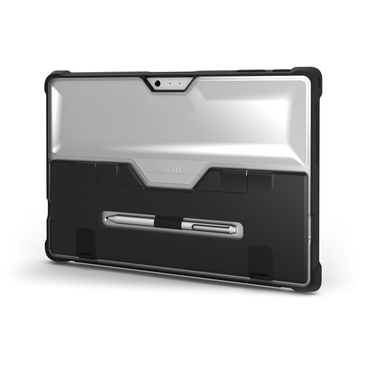 Coque surface pro 4 protection renforcee pied amovible dux for Housse surface pro 4