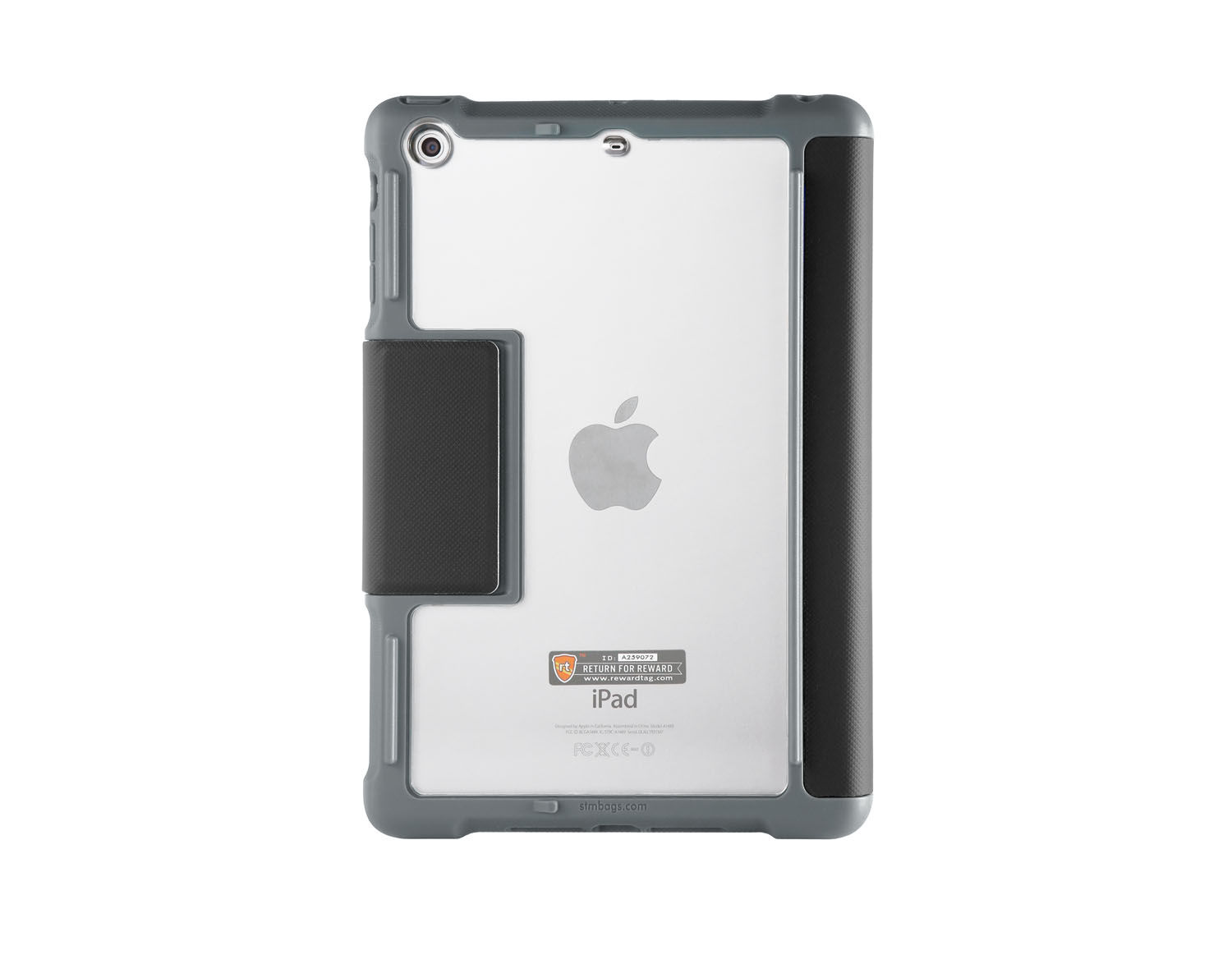 Coque Folio iPad Mini 4 Etui Etanche Dux Multi angles Noir