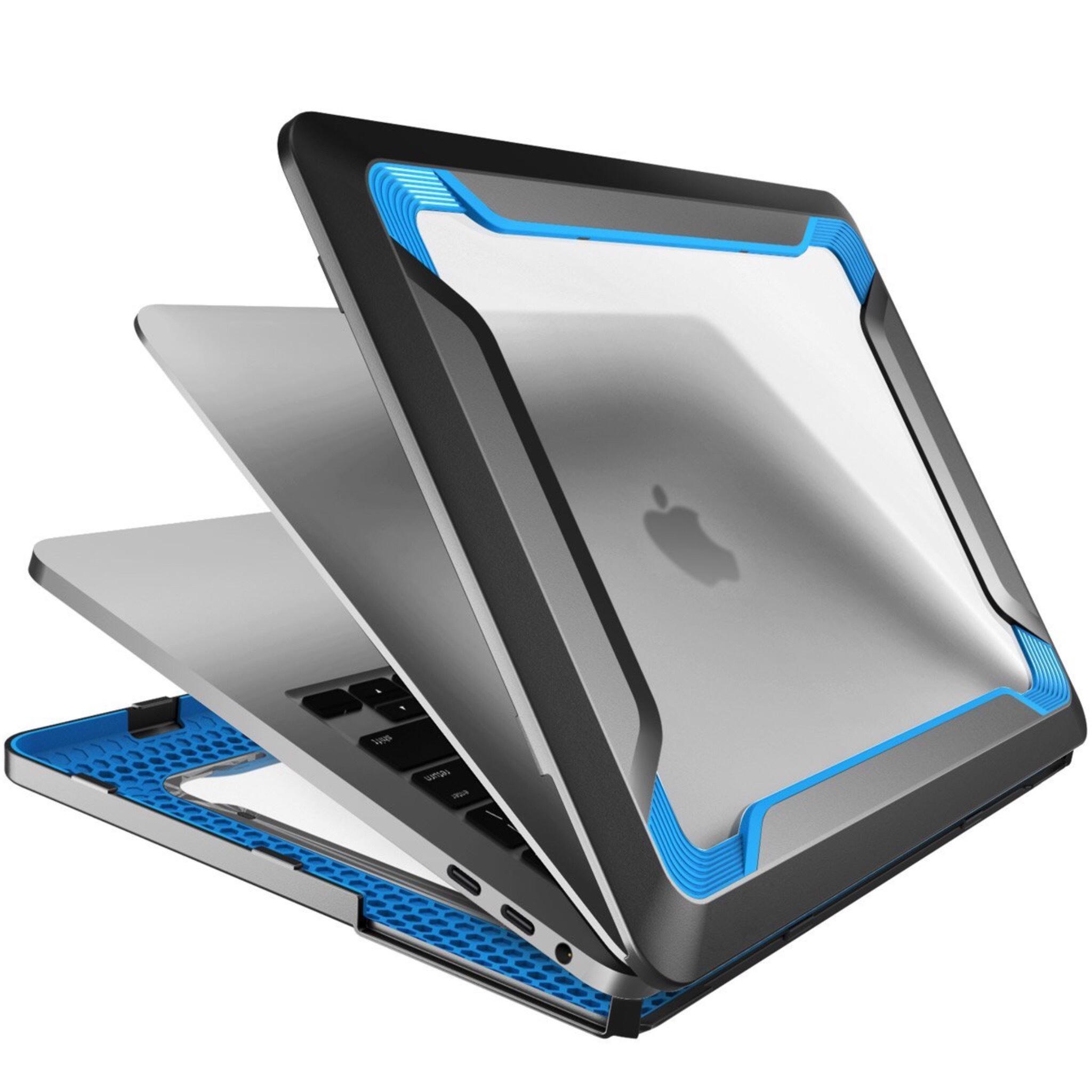 Coque renforcee Protection MacBook PRO Retina15 pouces avec Touch Bar 2016 Blaze Bleu