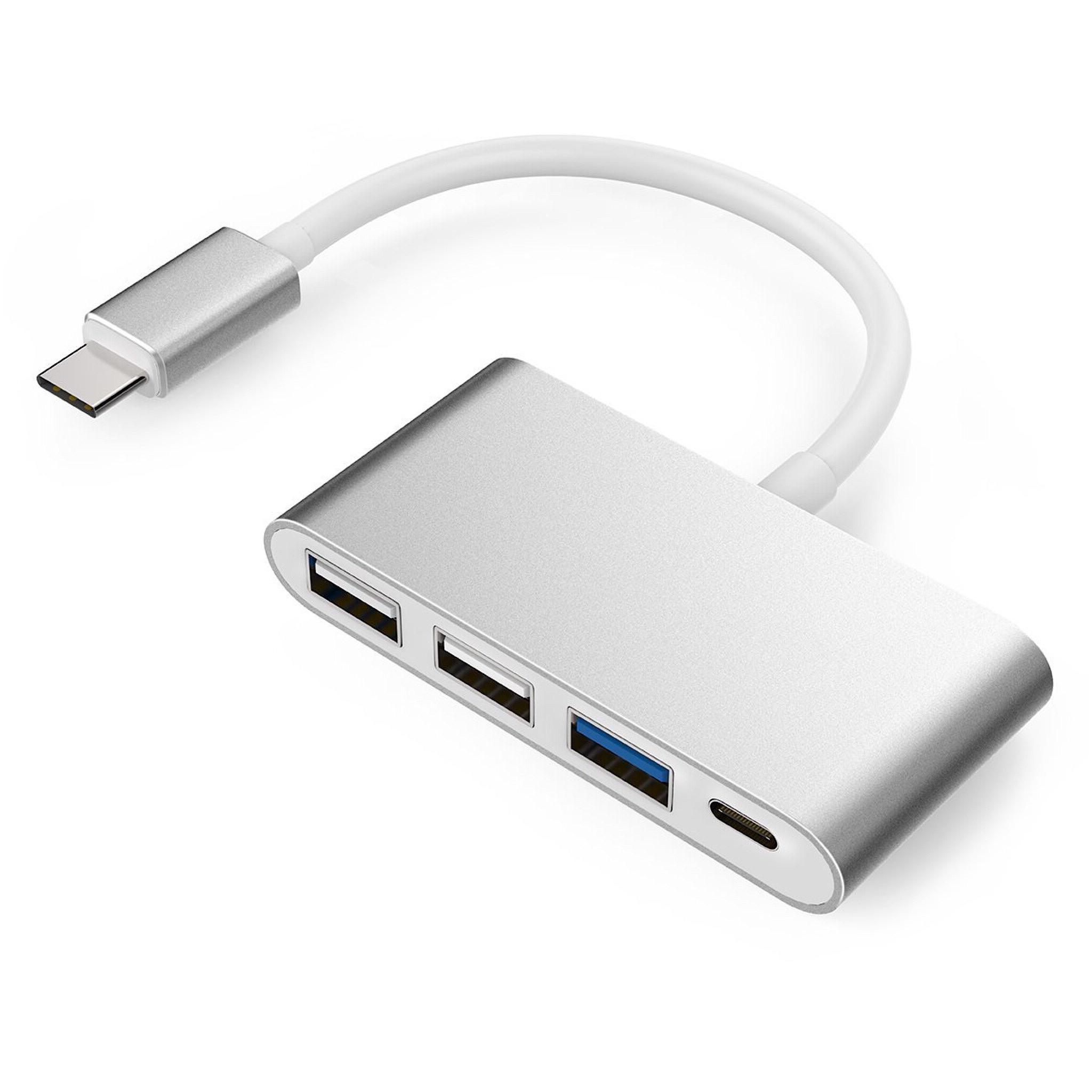 Adaptateur USB-C vers 1 x USB 3.0 et 2 x USB 2.0 + Charge USB-C
