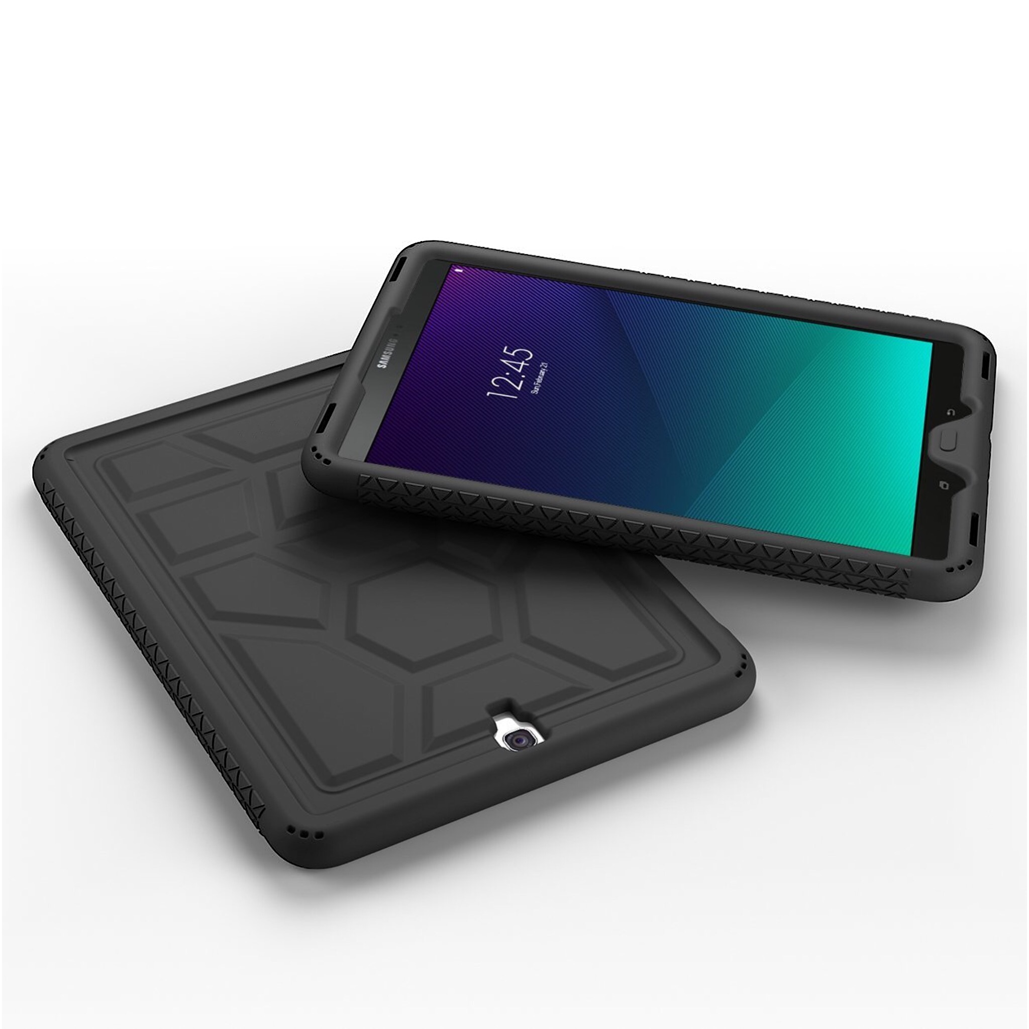 Coque Galaxy TAB S3 9.7 pouces Silicone renforce Premium Noir