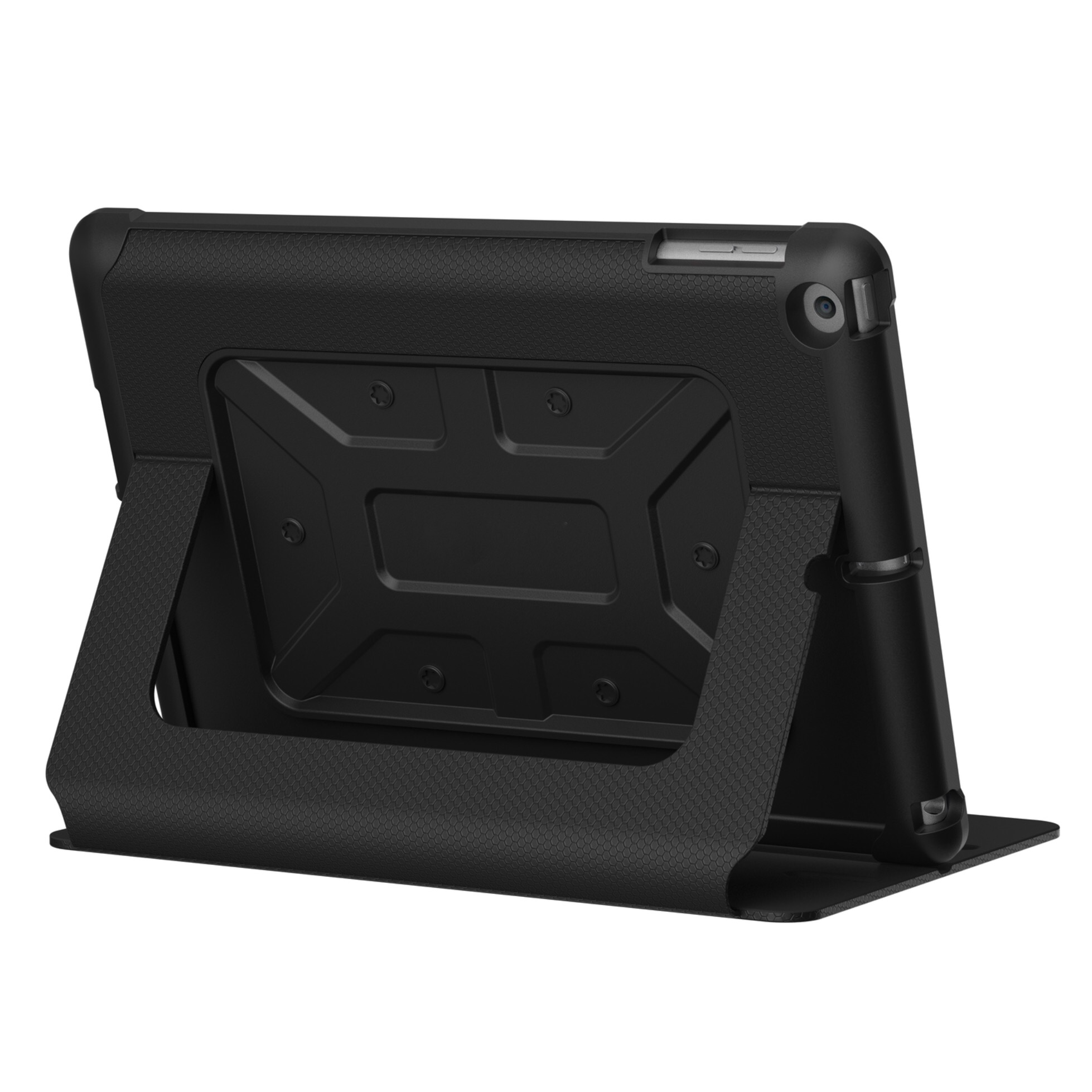 Etui Folio Coque cover iPad 2017 Protection Metro Noir
