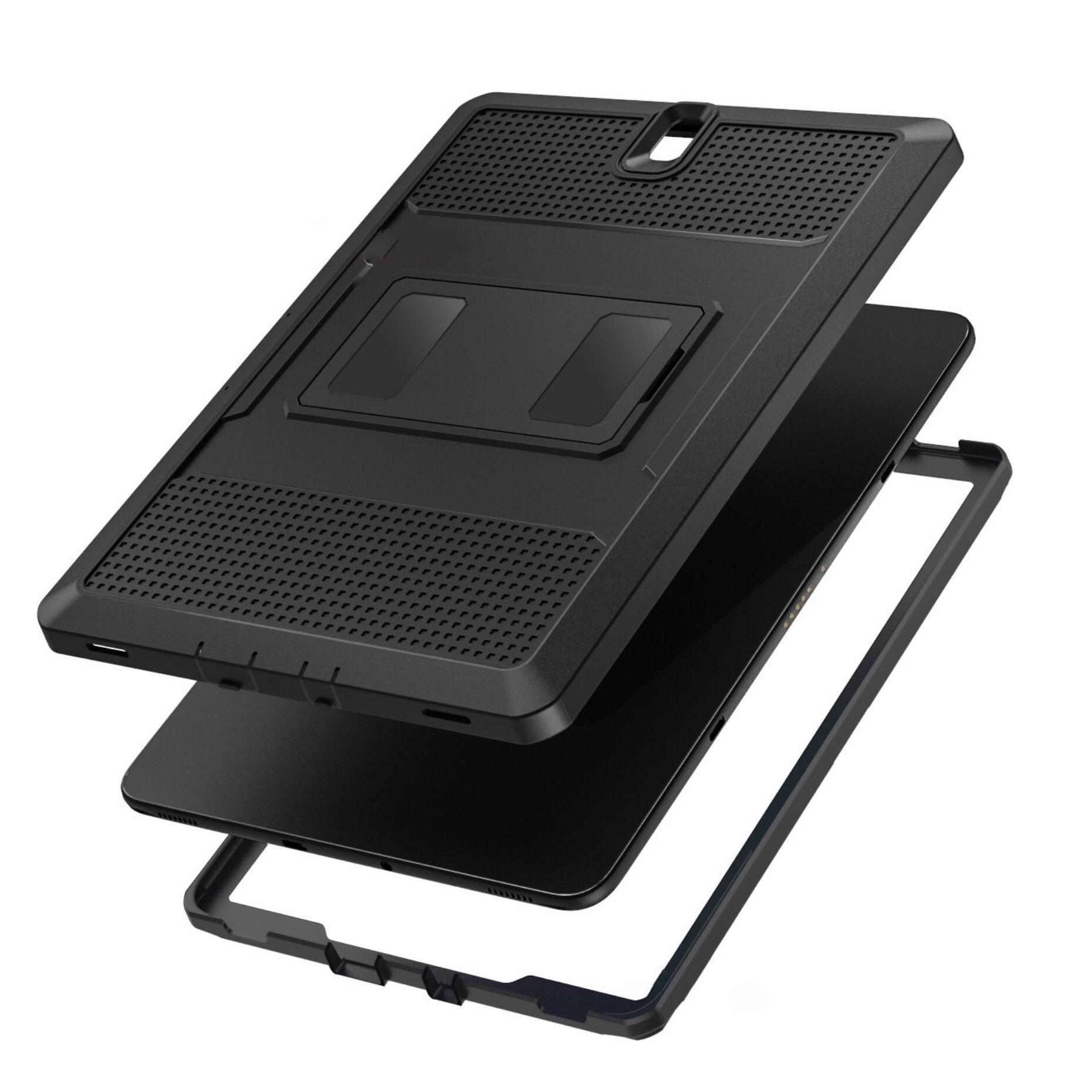 Coque Pied amovible et Film rigide Samsung Galaxy TAB S3 9.7