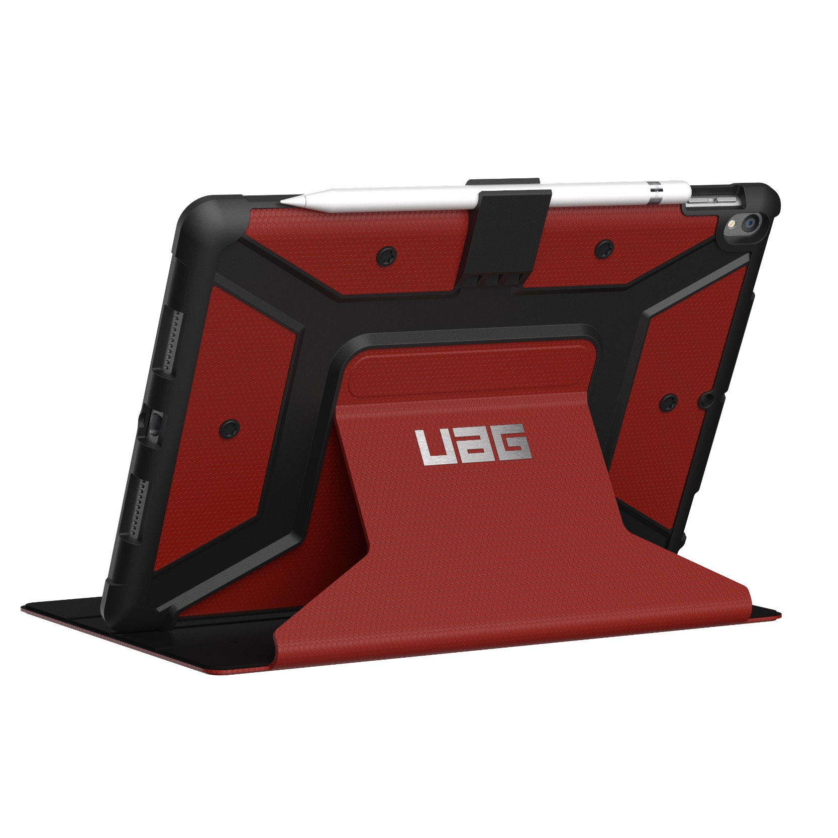 iPad PRO 10.5 pouces Etui Folio Armure Metropolys Cover ecran Rouge magma