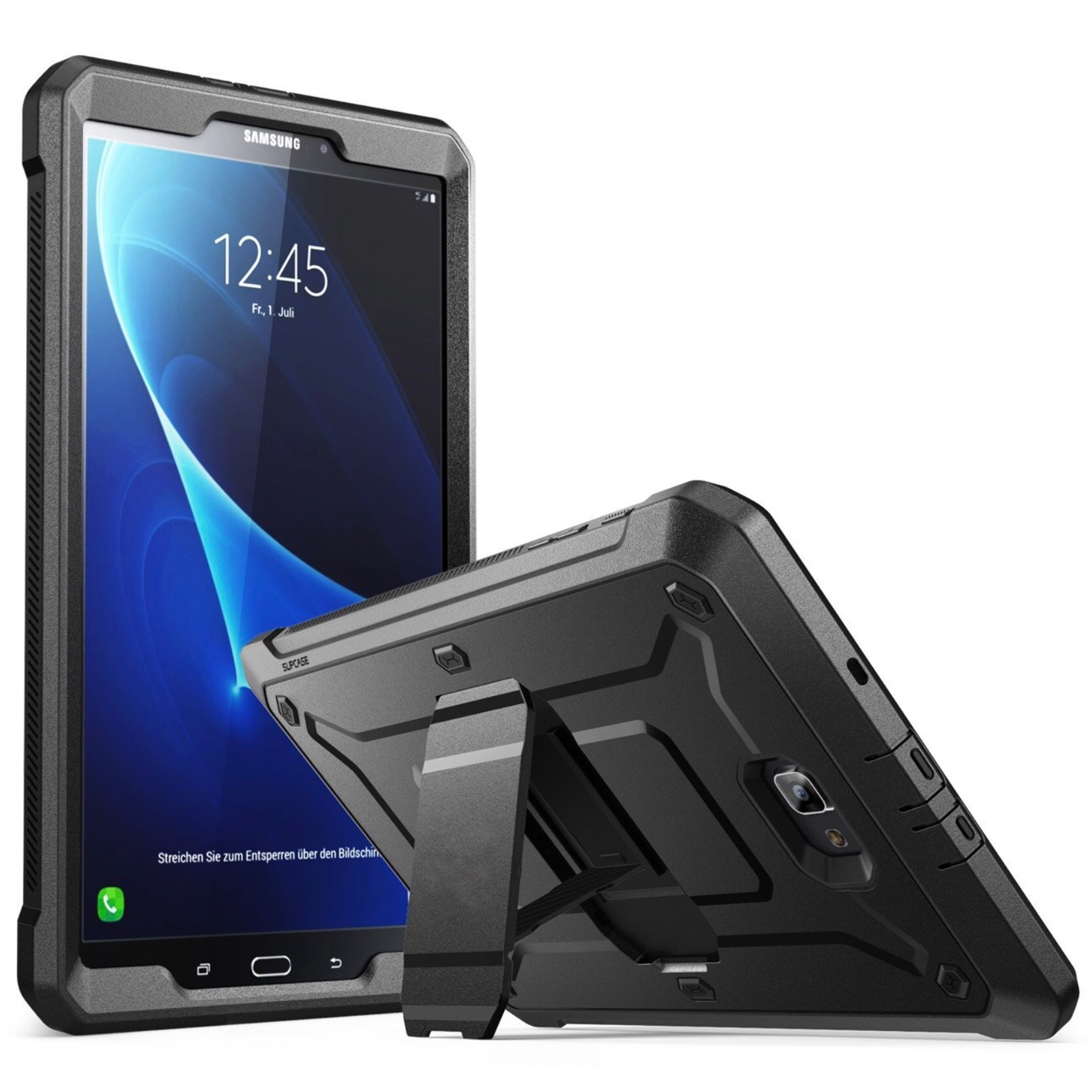 Protection Coque et film ecran rigide integre Galaxy TAB A 10.1 Footer