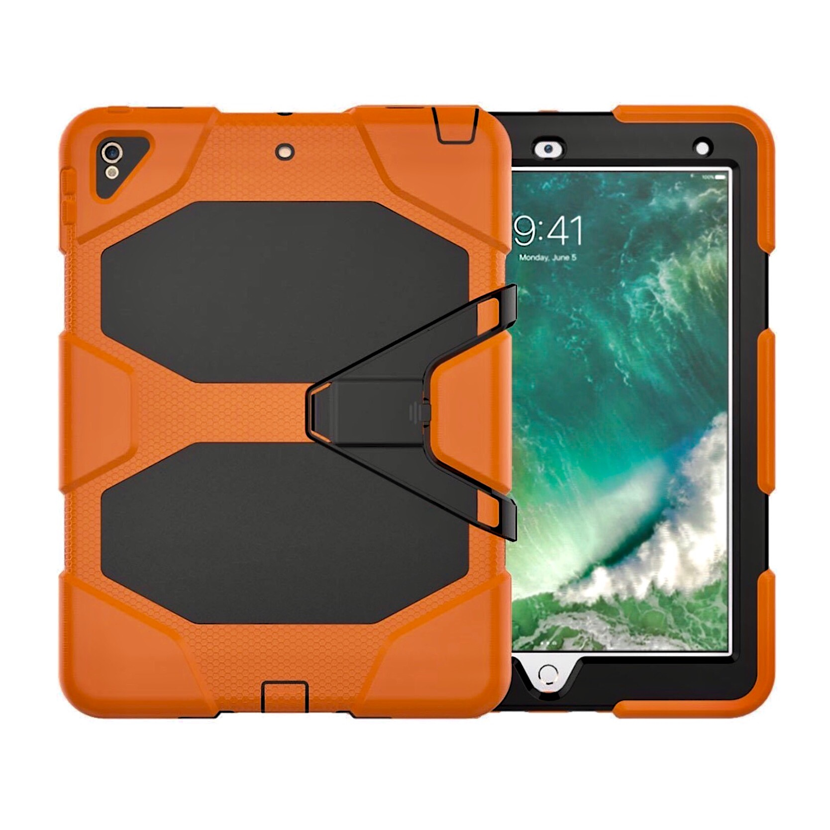 Coque Protection Professionnelle iPAD AIR 2019 10.5 Vegas Orange