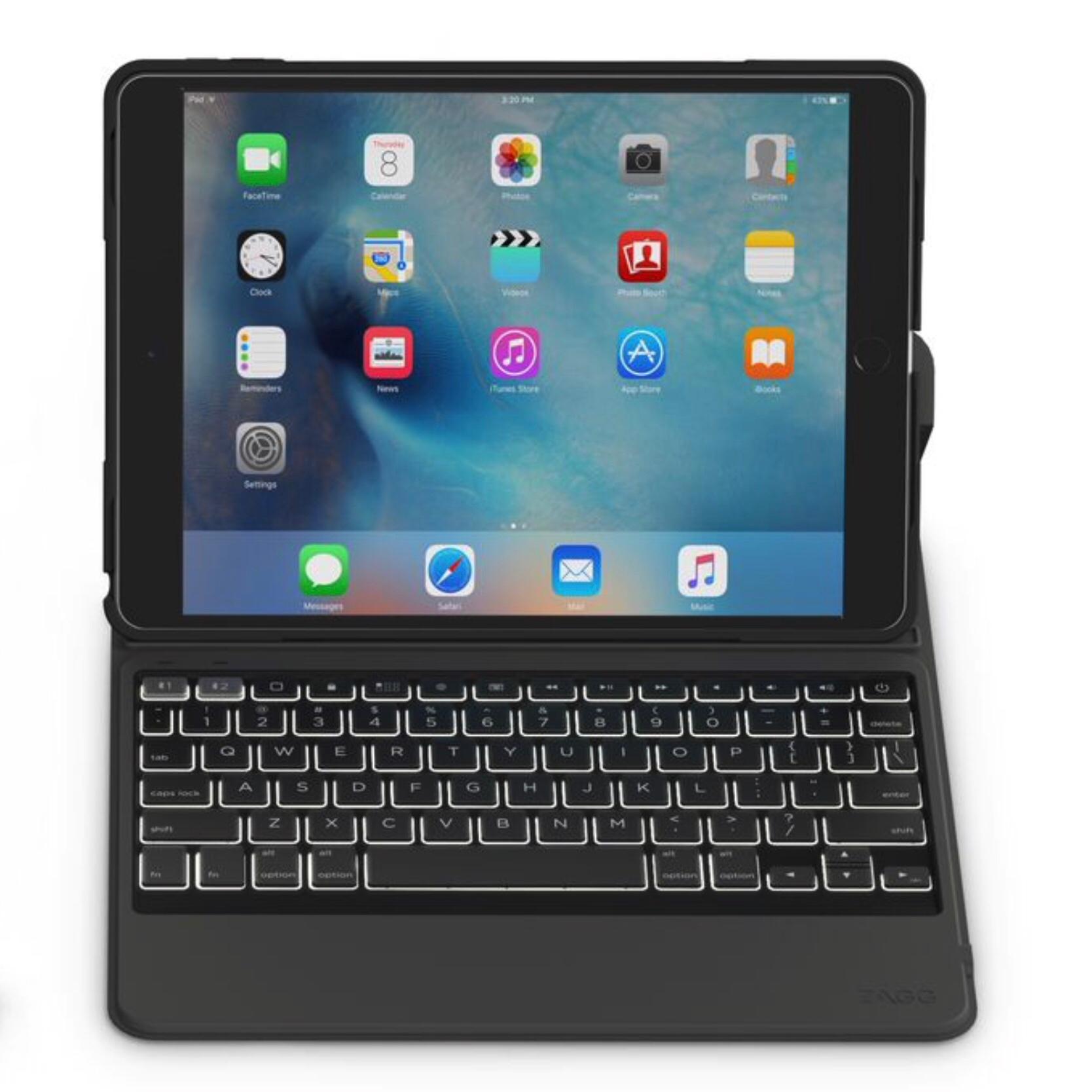 Clavier AZERTY 2 en 1 Coque renforcee Rugged Messenger iPad PRO 10.5 pouces