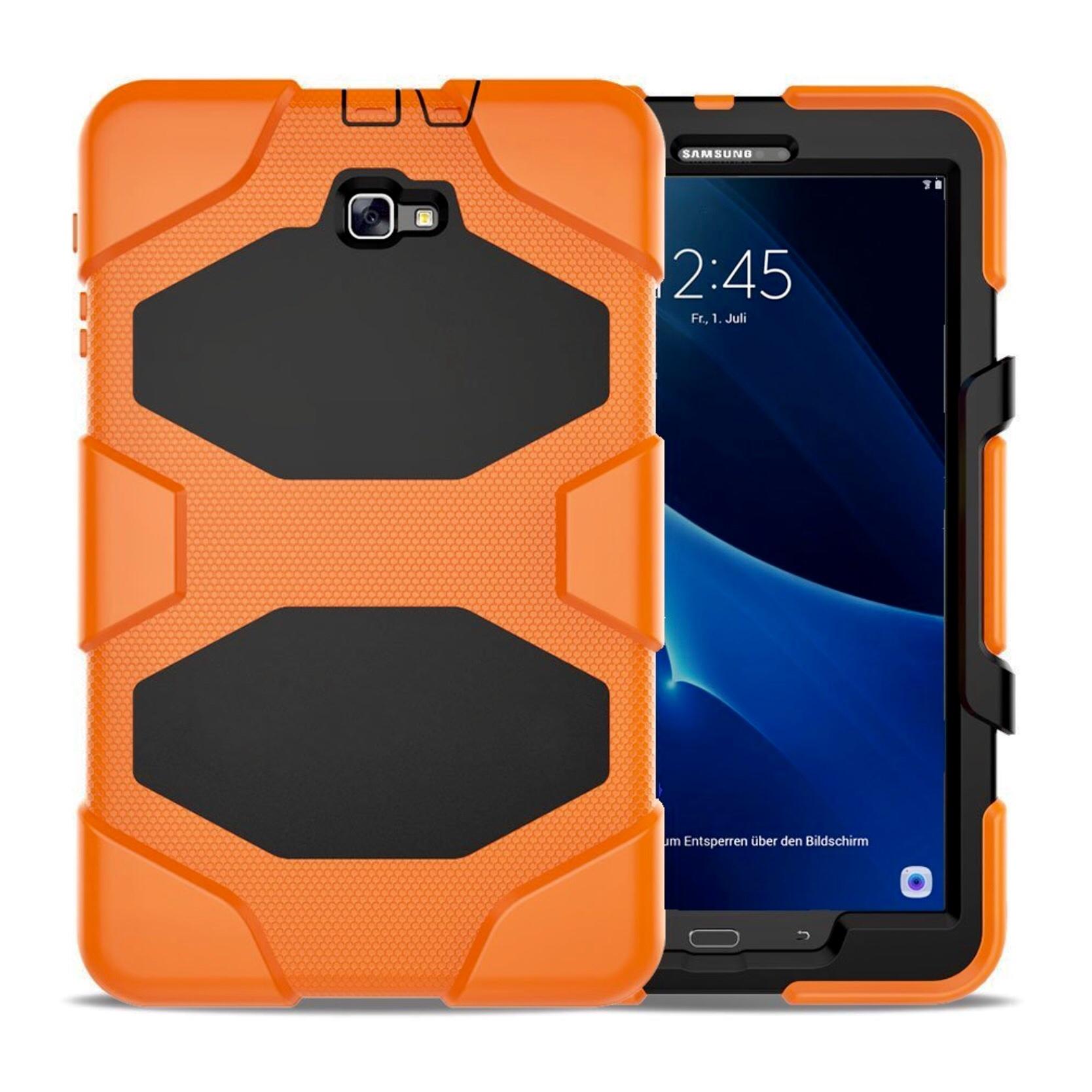 Coque Samsung Galaxy TAB A6 10.1 pouces Protection Vegas Orange