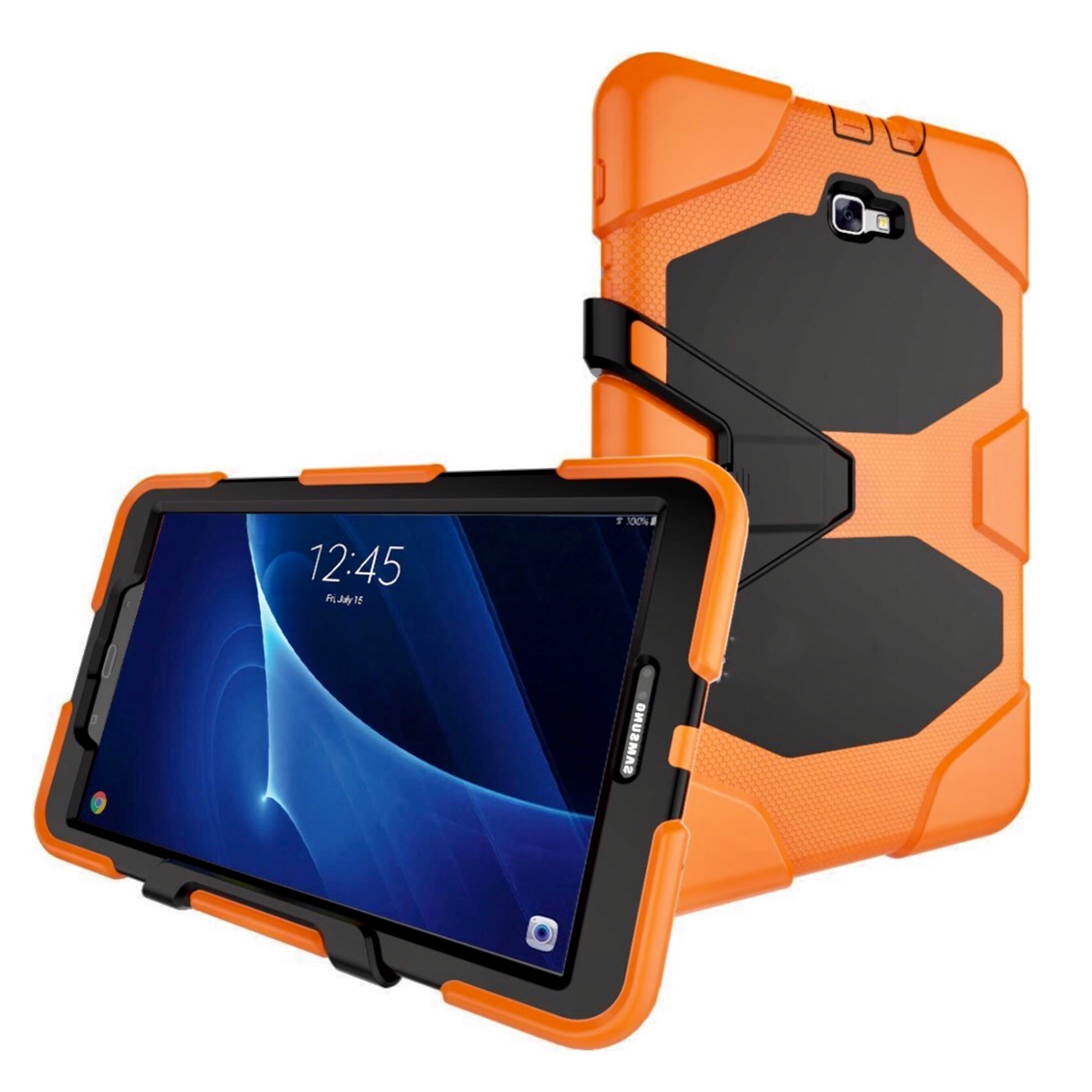 exclusive deals where can i buy to buy Coque Samsung Galaxy TAB A6 10.1 pouces Protection Vegas Orange