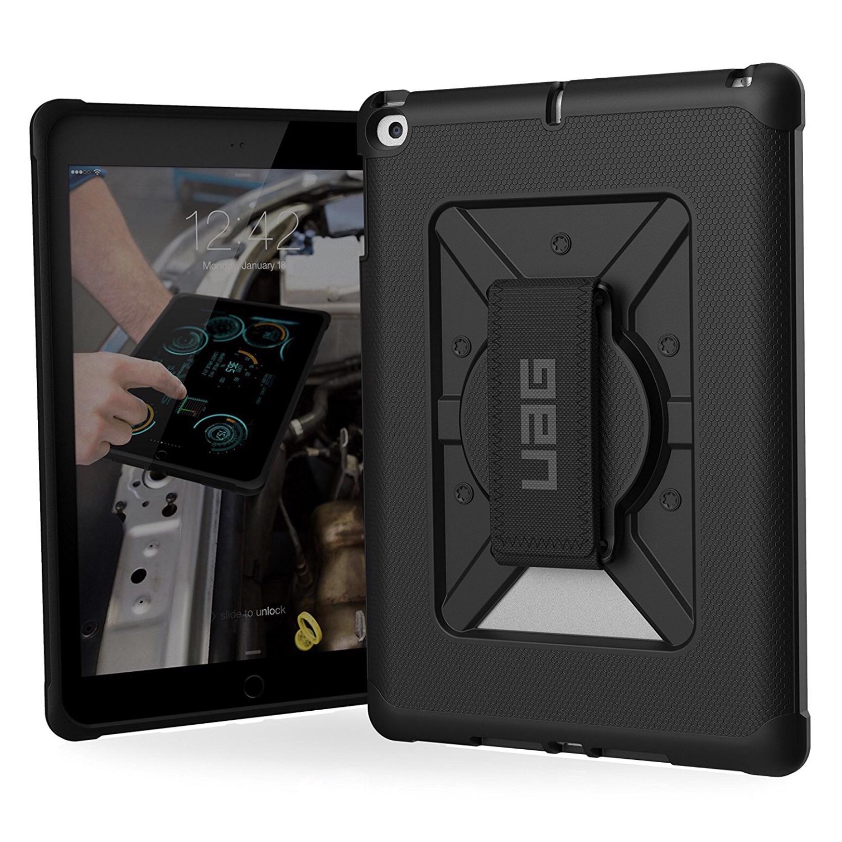 2 en 1 Verre de protection ecran New iPad 9.7 pouces et Coque renforcee  Harnais main 150d86a387ca