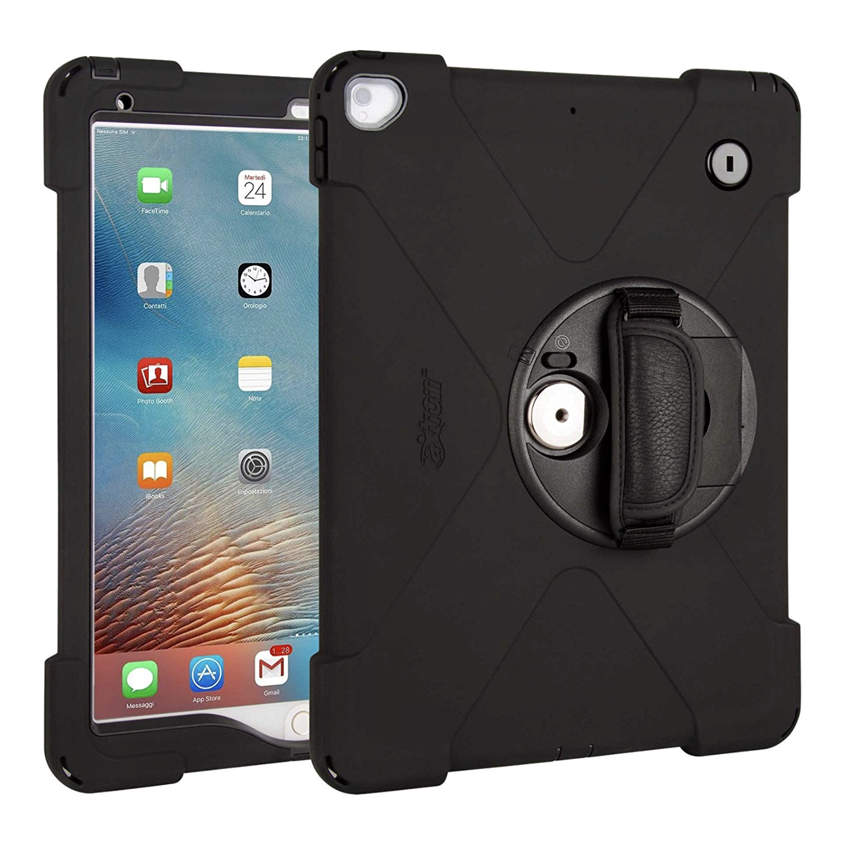 Apple iPad PRO 10.5 Coque de protection Waterproof Sangle main et film ecran Premium Connect