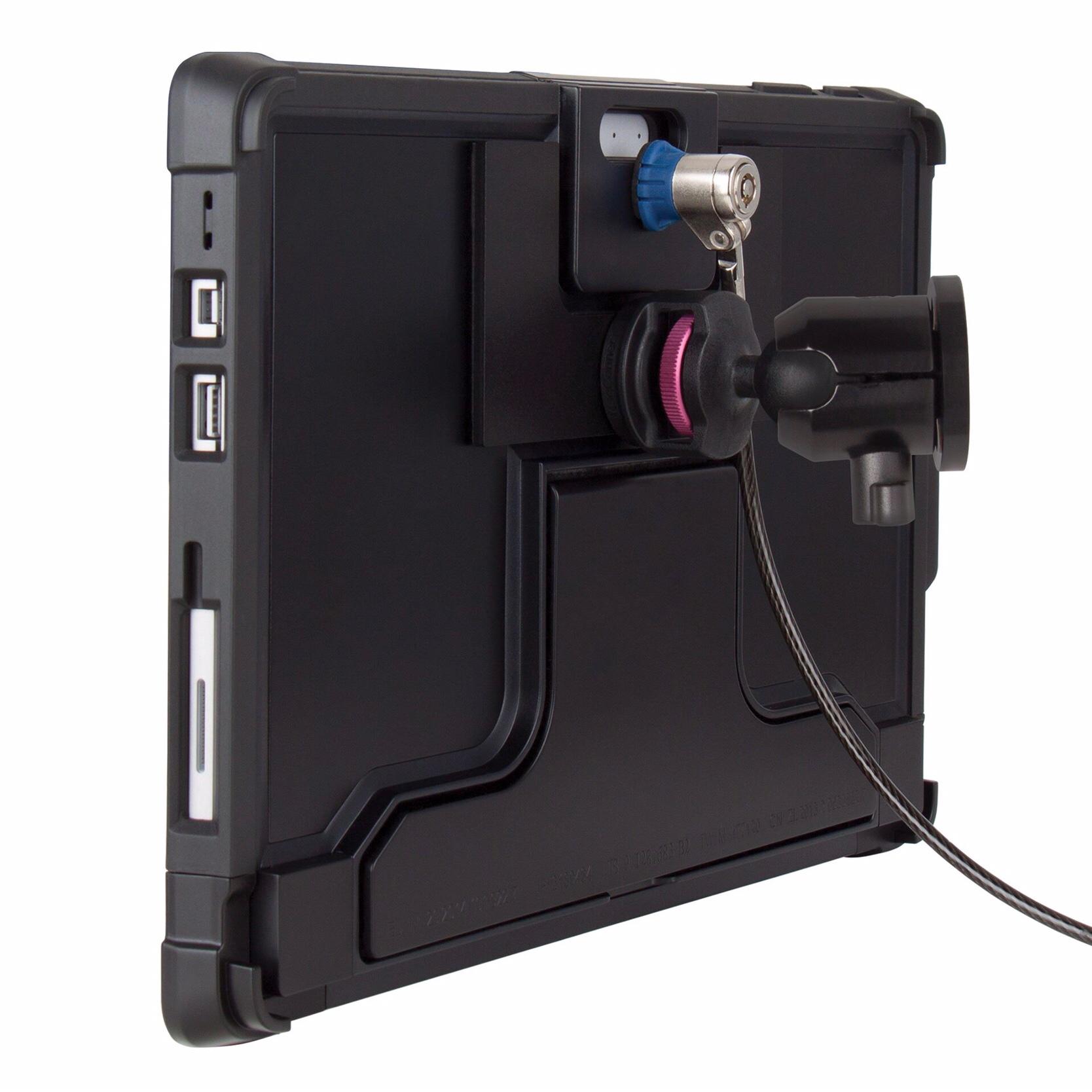 Kit 2 en 1 Coque Protection SURFACE PRO 12.3 Lockdown et Cable Antivol renforce