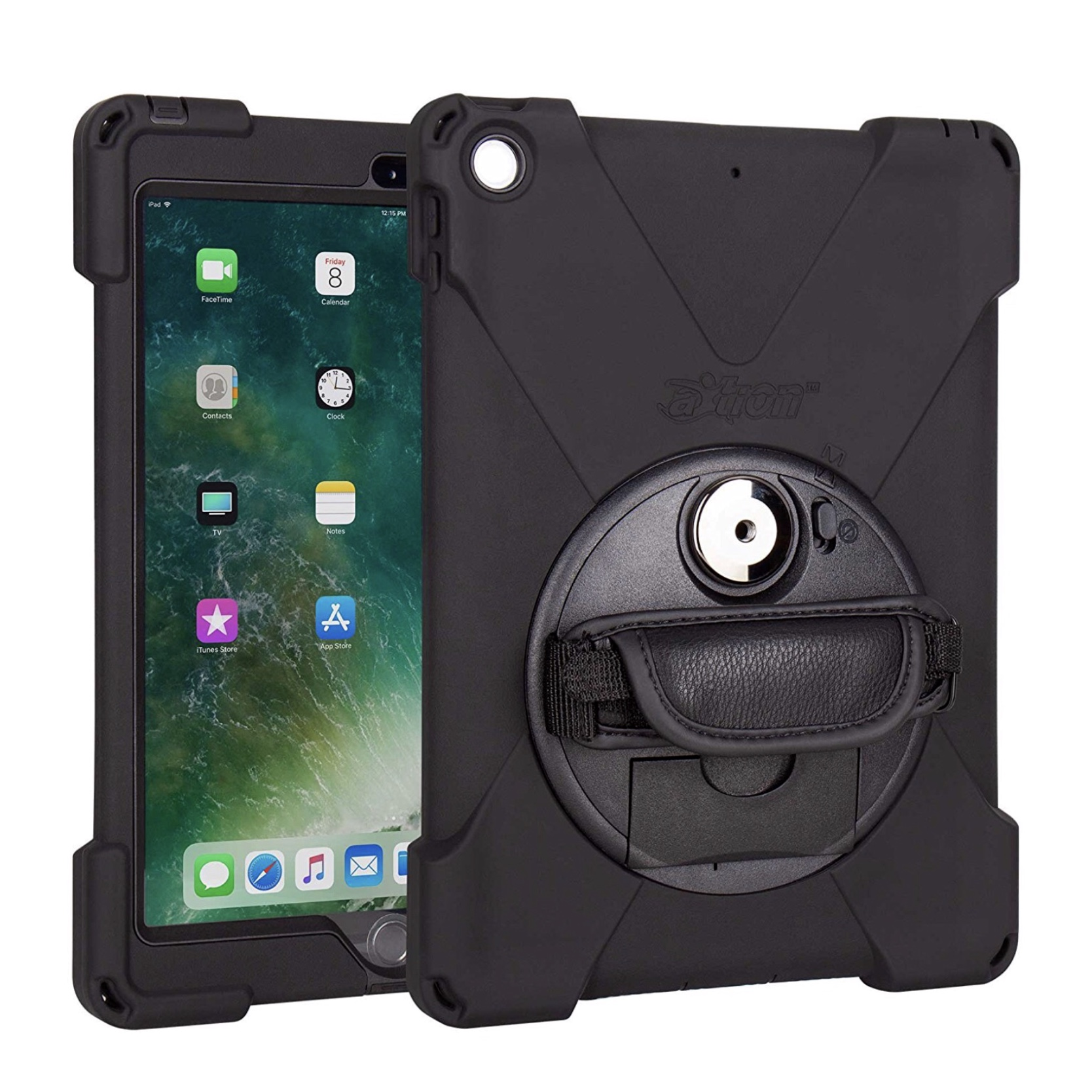 Protection PRO avec Sangle main New iPad 9.7 pouces Coque Premium Connect