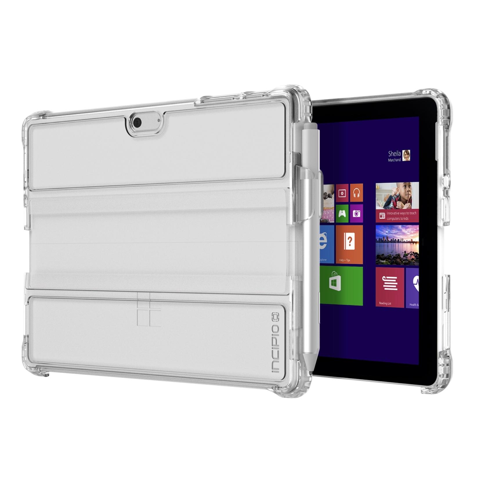 Coque de protection Octane Pure Transparente Surface GO 10 pouces avec support stylet