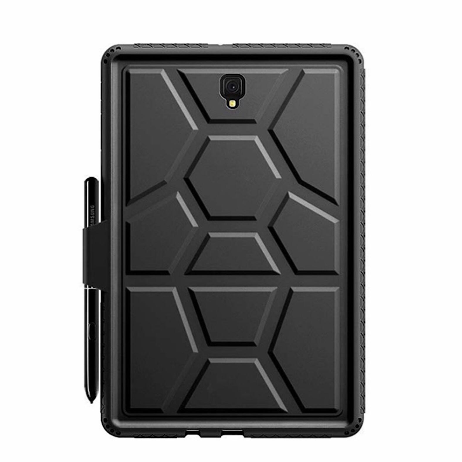 Bundle 2 en 1 Coque Silicone Premium et verre de protection ecran Galaxy TAB S4 10.5 pouces