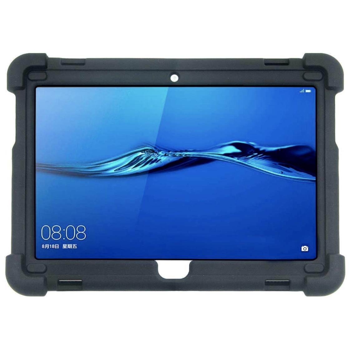MediaPad M3 LITE 10.1 de HUAWEI Coque Silicone renforce Premium Noir