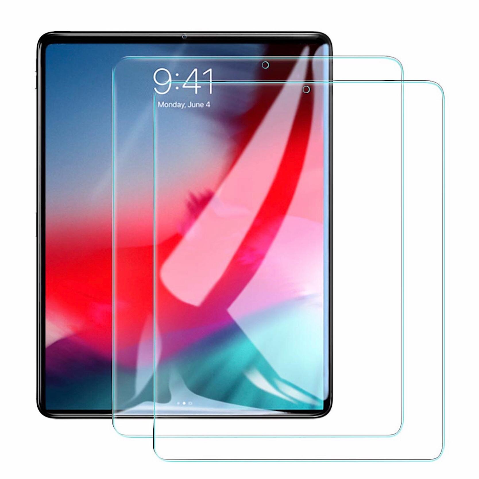 Pack de 2 x verres renforces de protection ecran Apple iPAD PRO 2018 12.9 pouces Premium 9H