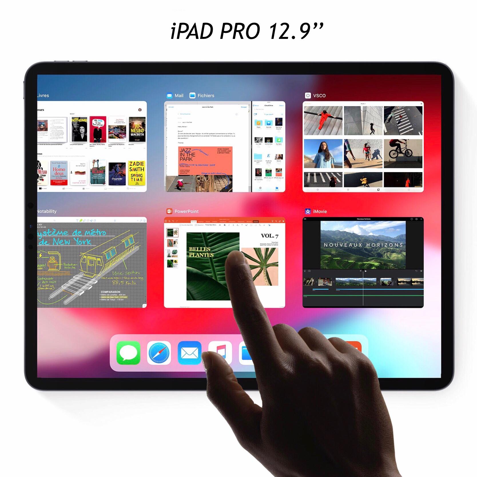 Apple iPAD PRO 2018 12.9 pouces Verre renforce de protection ecran Premium 9H