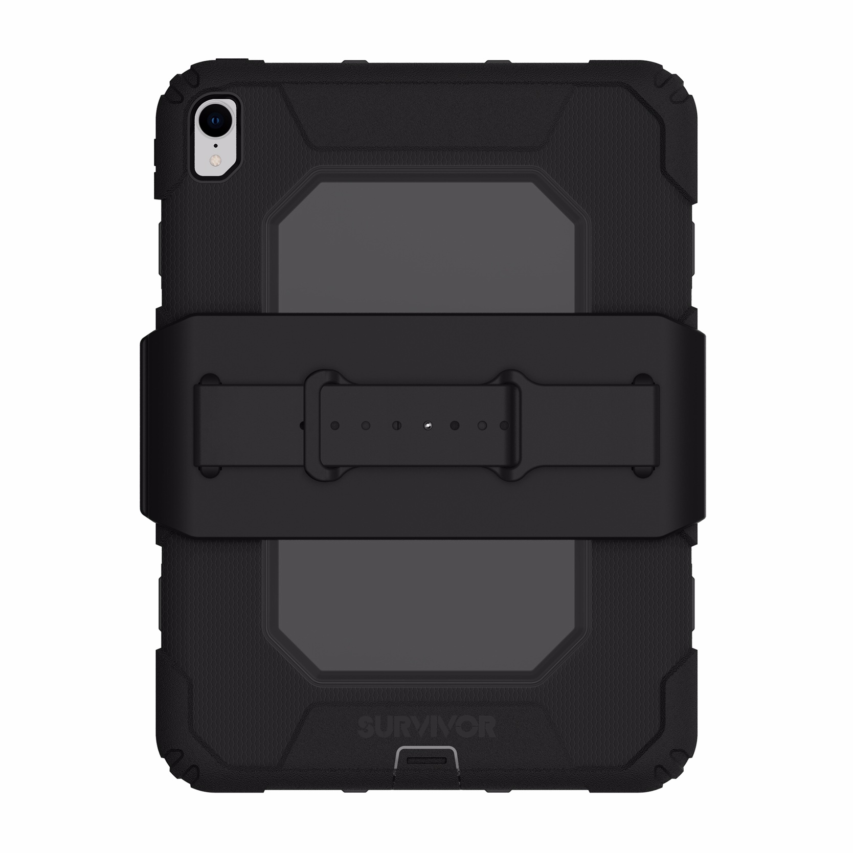 Survivor All Terrain iPad PRO 11 pouces Coque de protection renforcee Sangle main et film rigide ecran