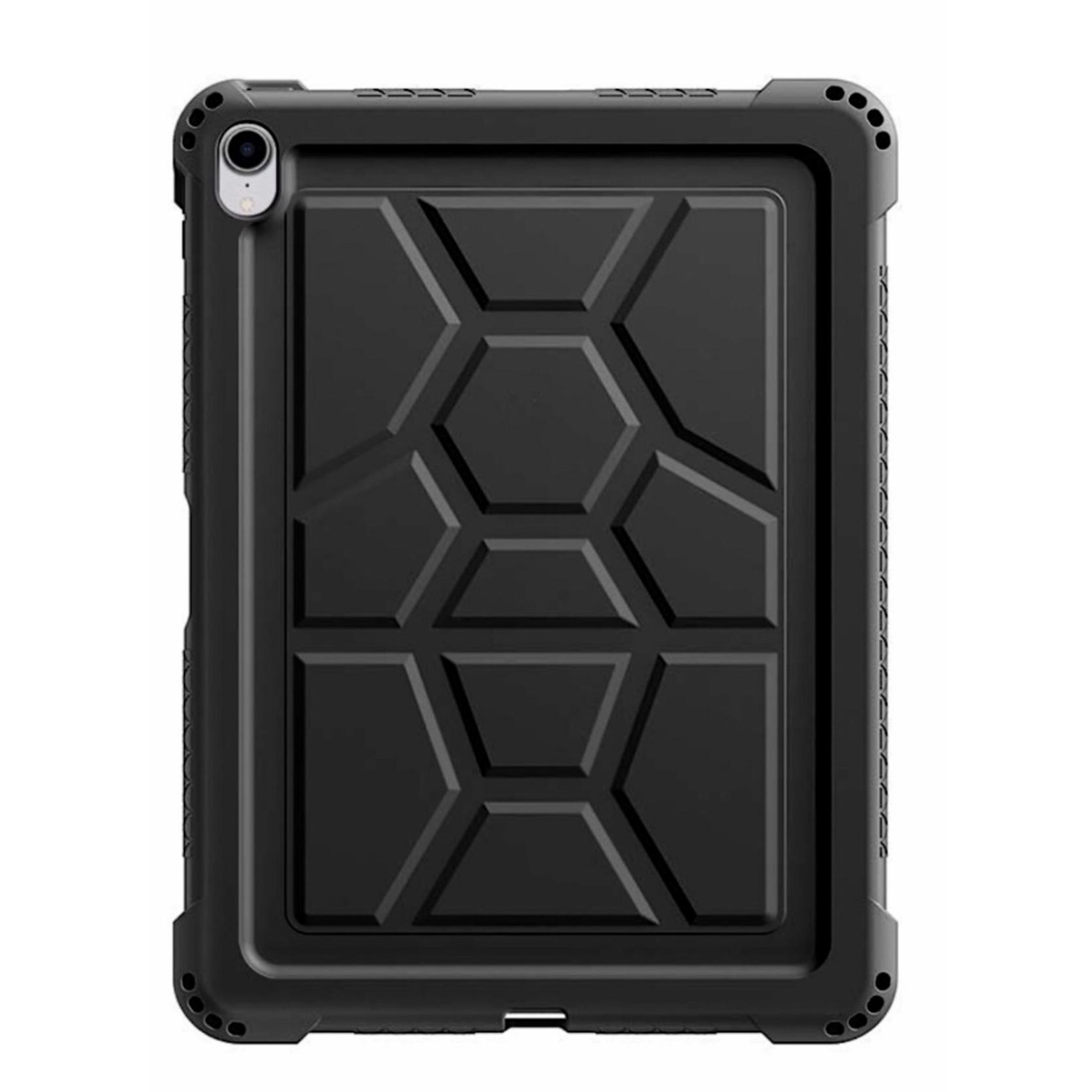 iPAD PRO 2018 11 pouces Coque silicone renforcé avec support stylet Premium Noir