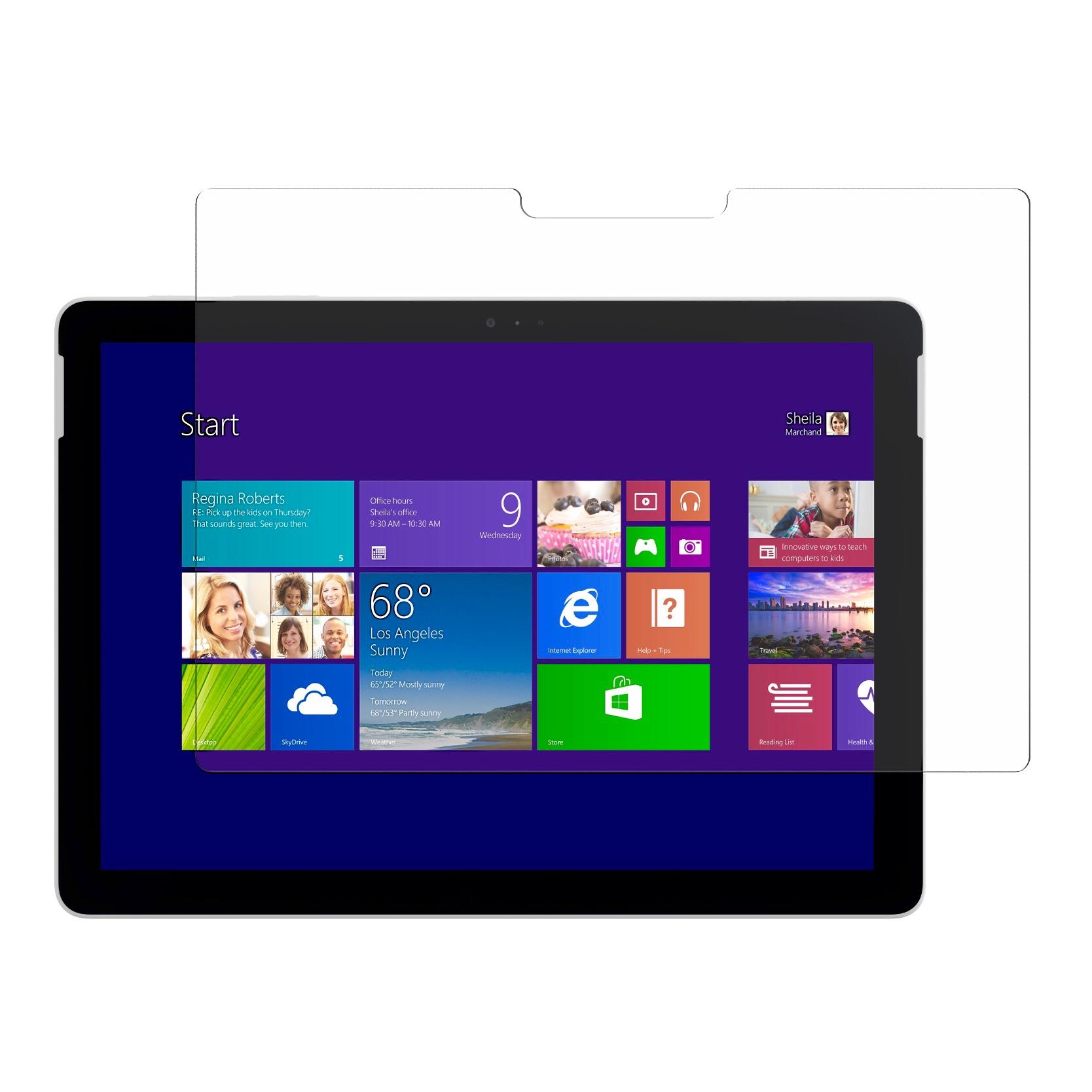 Pack de 2 x Verres renforces Surface GO 10p Protection ecran Premium 9H