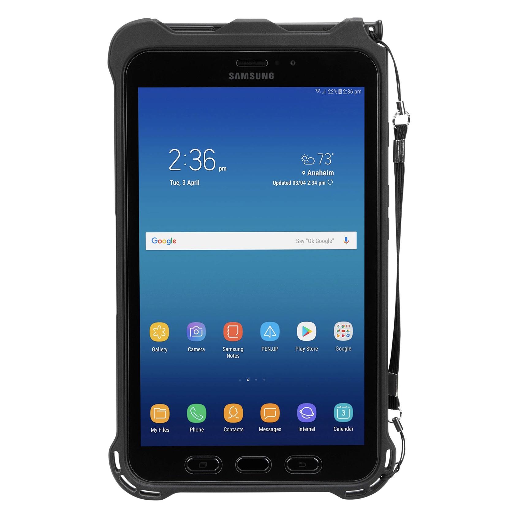 Pack 2 en 1 Etui de protection et Verre renforcé écran Galaxy TAB ACTIVE 2 8 pouces
