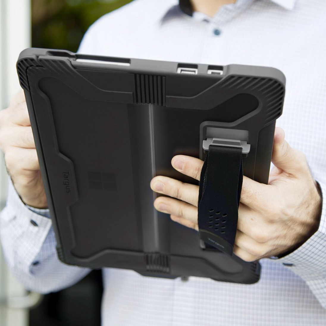 Microsoft Surface PRO 6 et Surface PRO 12.3 pouces Etui Safeport avec Sangle main