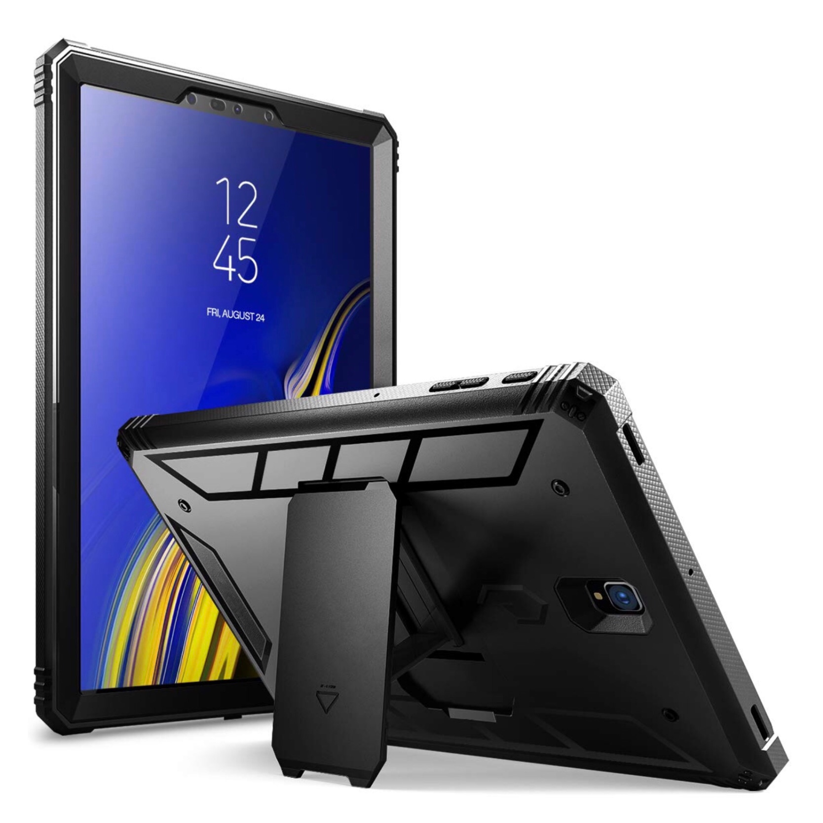 Galaxy TAB S4 10.5 pouces Coque de protection et film rigide ecran Footer