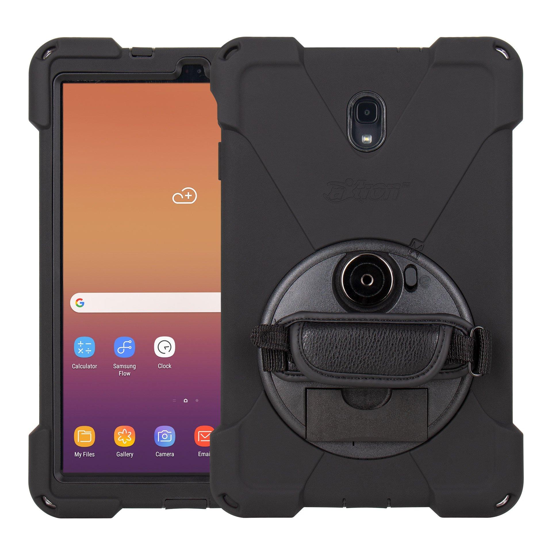 Samsung Galaxy TAB A 10.5 pouces Coque de Protection Professionnelle avec Sangle main Premium Connect